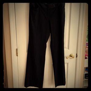 Black dress pants from WHBM. Modern boot